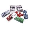 Набор для игры в покер в алюминиевом кейсе 100 фишек CG-11100 - фото 2