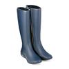 Резиновые сапоги WalkMaxx темно-синие - фото 1