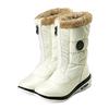 Сапожки зимние на молнии, белые WalkMaxx - фото 2