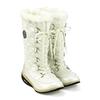 Сапожки зимние на шнуровке, белые WalkMaxx - фото 2