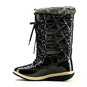 Фото 1 к товару Сапожки зимние на шнуровке, черные WalkMaxx