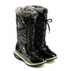 Сапожки зимние на шнуровке, черные WalkMaxx - фото 2