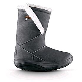 Сапожки зимние серые WalkMaxx