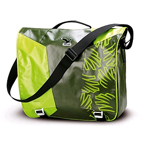 Сумка Salewa Spike Messenger зеленая