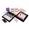 Набор игр 6 в 1: шахматы, шашки, нарды, домино, кости, карты - фото 2