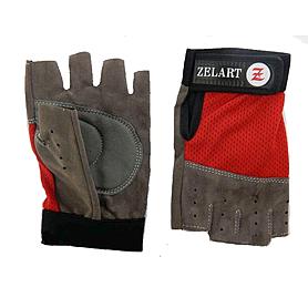 Перчатки для фитнеса Zelart BC-3544 красные - XS