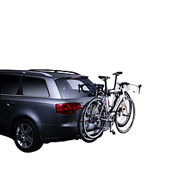 Фото 2 к товару Багажник на фаркоп для 2-х велосипедов Thule Xpress 970