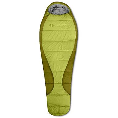 Спальный мешок (спальник) Trimm Gant 195 правый зеленый