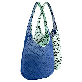Фото 2 к товару Сумка женская Nike Graphic Reversible Tote голубой с зеленым