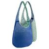 Сумка женская Nike Graphic Reversible Tote голубой с зеленым - фото 2
