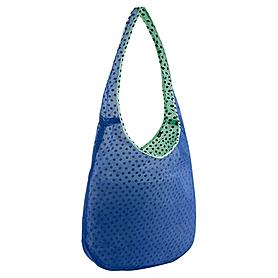 Фото 3 к товару Сумка женская Nike Graphic Reversible Tote голубой с зеленым