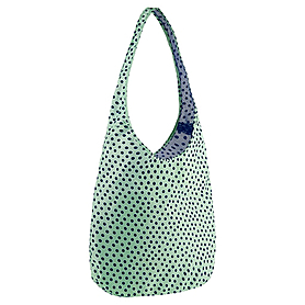 Фото 4 к товару Сумка женская Nike Graphic Reversible Tote голубой с зеленым