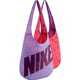 Сумка женская Nike Graphic Reversible Tote фиолетовый с красным