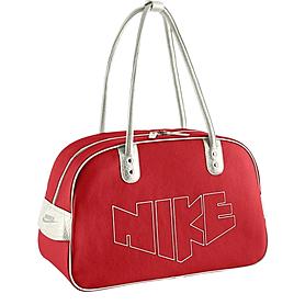 Фото 1 к товару Сумка женская Nike Heritage 76 Print Shoulder Clu красный BA4646-631