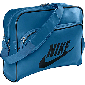 Фото 1 к товару Сумка мужская Nike Heritage Si Track Bag морская волна