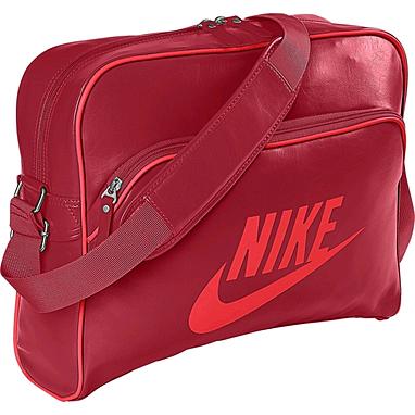 Сумка мужская Nike Heritage Si Track Bag бордово-красный