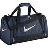 Сумка спортивная Nike Brasilia 6 Duffel Small темно-синий - фото 1