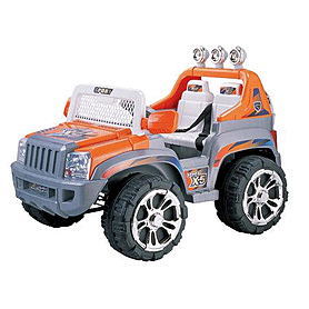 Детский электромобиль джип Baby Tilly ZP5199 Orange