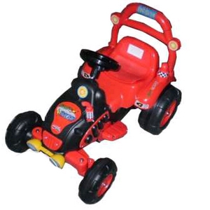 Электромобиль детский трактор Baby Tilly BS003 Red
