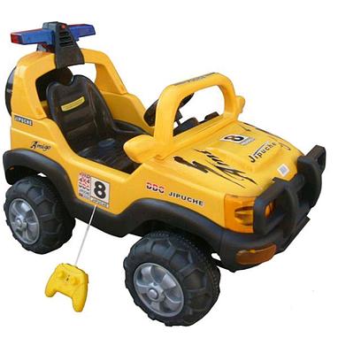 Электромобиль детский джип Baby Tilly BT-BOC-0047 Yellow