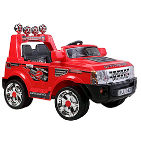 Детский электромобиль джип Baby Tilly BT-BOC-0049 Red