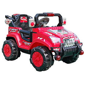 Детский электромобиль джип Baby Tilly BT-BOC-0012 Red