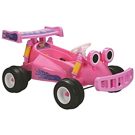 Детский электромобиль карт Baby Tilly YJ129 Pink