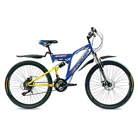 """Велосипед горный Premier Legion Disc 26"""" желтый с голубым рама - 18"""""""