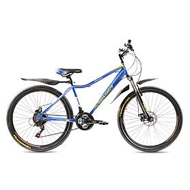 """Велосипед горный Premier Rocket Disc 26"""" голубой с желтым рама - 16"""""""