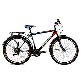 """Велосипед городской Premier Texas 26"""" черный с красным рама - 19"""""""