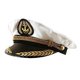 Капитанка тканевая с вышивкой Экспедиция