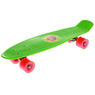 Скейтборд Penny Cruiser Fish Line 22-K зеленый