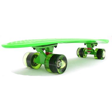 Скейтборд Penny Fish Line Cruiser 28-KS зеленый