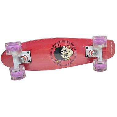 Скейтборд лонгборд Penny 22-D красный
