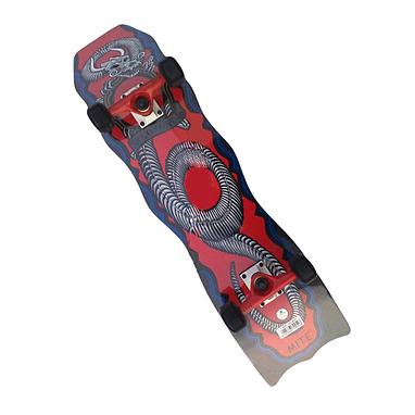 Скейтборд фигурный Scooter 802 красный