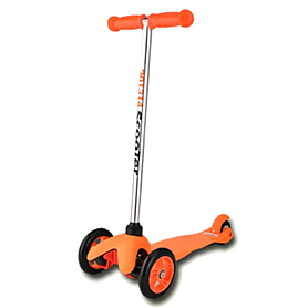 Фото 1 к товару Самокат трехколесный c наклоном руля 21st Scooter M-28 оранжевый