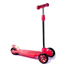 Фото 1 к товару Самокат трехколесный с наклоном руля 21st Scooter Z-99 розовый