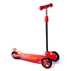 Фото 1 к товару Самокат трехколесный с наклоном руля 21st Scooter Z-99 красный
