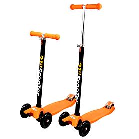 Фото 1 к товару Самокат трехколесный с наклоном руля 21st Scooter Z-36 оранжевый