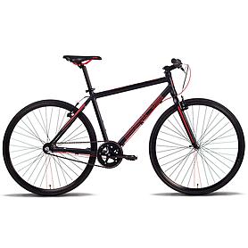 """Велосипед городской Pride Bullet 28""""  черно-красный (модель 2014 года)"""