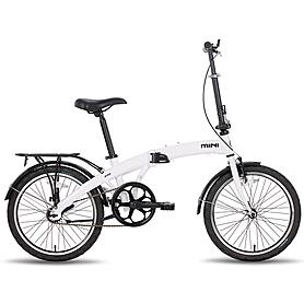 """Велосипед городской Pride Mini 1sp 20"""" белый глянцевый (модель 2015 года)"""