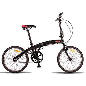 """Велосипед городской Pride Mini 3sp 20"""" черно-красный (модель 2015 года)"""