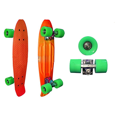 Cкейтборд Penny PC SK-4353 оранжевый