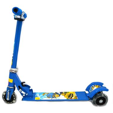 Самокат трехколесный Scooter F-010 синий