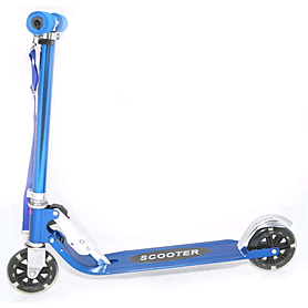 Фото 1 к товару Самокат двухколесный Scooter Z-4 синий