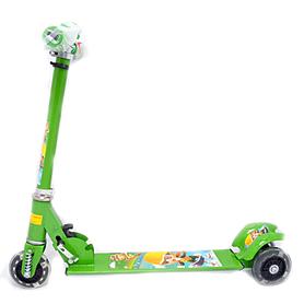 Фото 1 к товару Самокат трехколесный Scooter F-010 зеленый