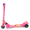 Самокат трехколесный Scooter F-010 розовый - фото 1