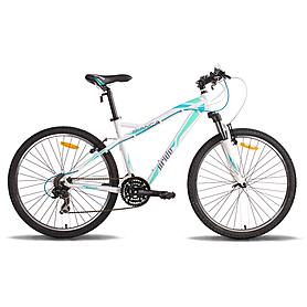 "Велосипед женский Pride Bianca 26"" бело-бирюзовый 2014 рама - 18"""