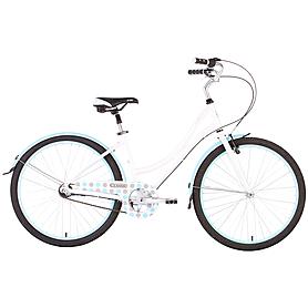 """Велосипед женский Pride Classic 26"""" бело-синий 2015 рама - 18"""""""