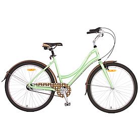 """Велосипед городской женский Pride Classic 26"""" зелено-коричневый 2015 рама - 18"""""""